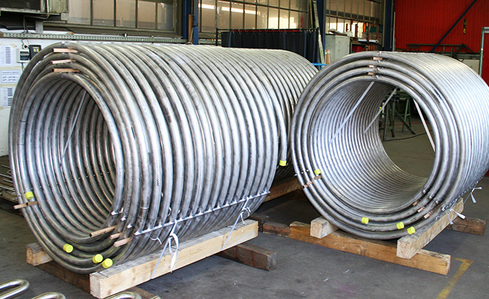 Helical coil system
