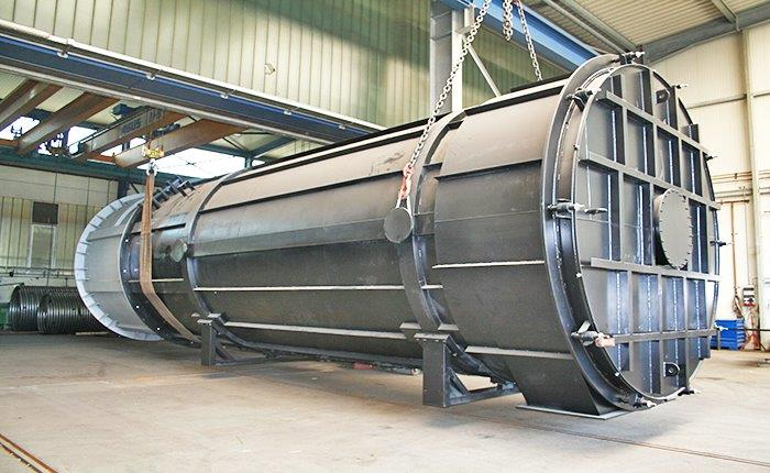 Thermal oil heater for generating power