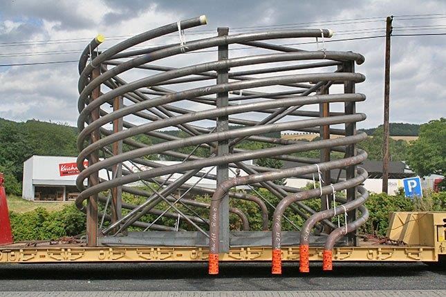 Coil system for a refinery